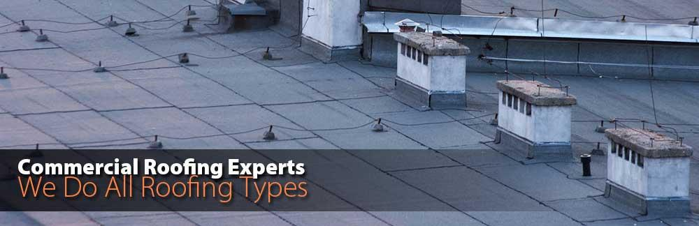 Commercial Roofing Experts - We Do All Roofing Types!